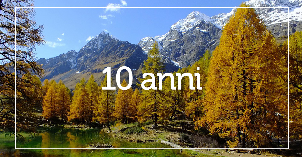 Decennale Fondazione comunitaria della valle d'aosta - Fondazione VDA 10 anni