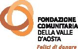 Logo Fondazione comunitaria della Valle d'aosta - VDA
